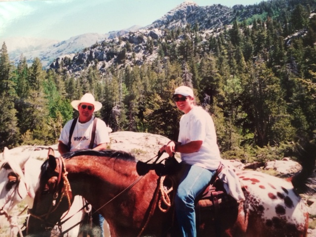 Riding in the mountains-1999