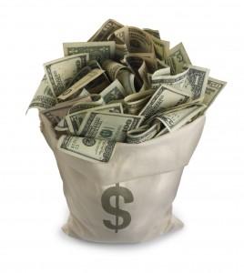 bag of money