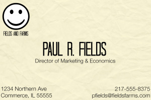 farmer business cards 1