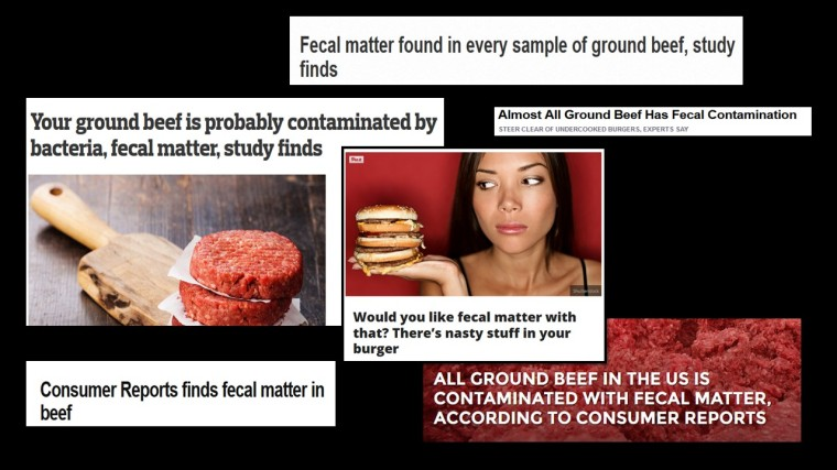 Ground beef headlines