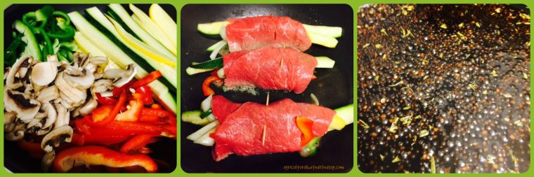 Steak wrap prep - fina